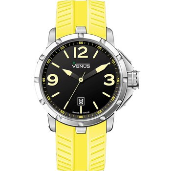 VENUS Chroma Yellow Rubber Strap