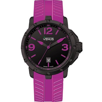 VENUS Chroma Ladies Purple Rubber Strap