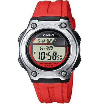 CASIO Collection Red Rubber