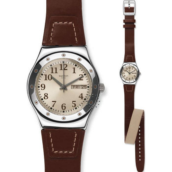 SWATCH Doublewrap Brown