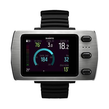 SUUNTO Eon Steel Black Rubber