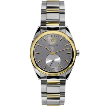 MICHEL HERBELIN Classic Two Tone Stainless Steel Bracelet