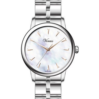 VENUS Classico Mother Of Pearl Stainless Steel Bracelet