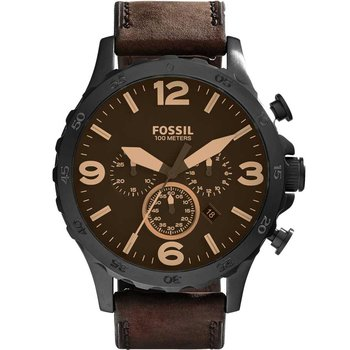 FOSSIL Nate Chrono Brown