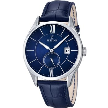 FESTINA Mens Blue Leather