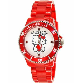 HELLO KITTY Kids Red Plastic