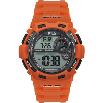 FILA Sport Orange Rubber Strap