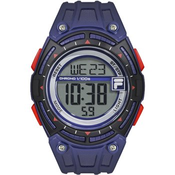 FILA Sport Purple Rubber Strap