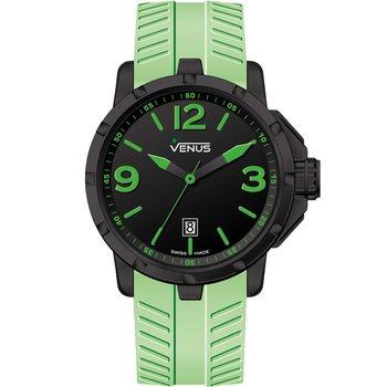 VENUS Chroma Large Lime Rubber Strap