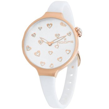 HOOPS Icon Flowers Rose Gold