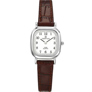 CERTUS Classic Women Brown Leather Strap