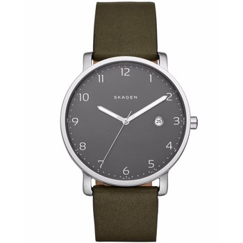 SKAGEN Hagen Khaki Leather