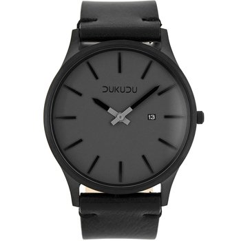 DUKUDU Ivar Black Leather