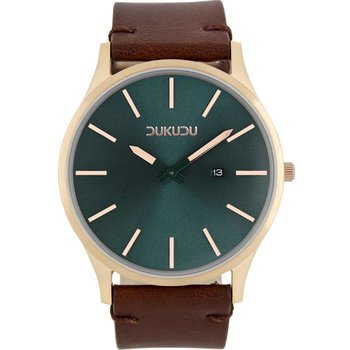 DUKUDU Jorn Brown Leather