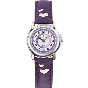 CERTUS Kids Purple Leather