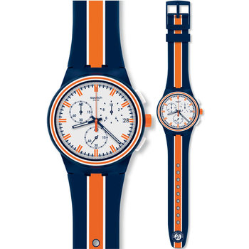 SWATCH Tie Break Chronograph