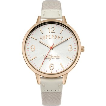 SUPERDRY Ascot Beige Leather