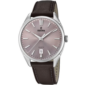 FESTINA Men's Brown Leather