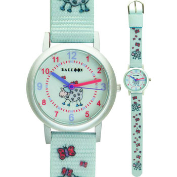 BALLOON Girls Light Blue Fabric Strap