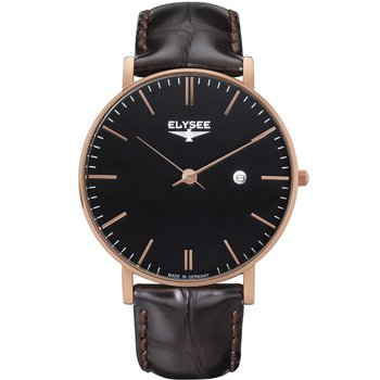ELYSEE Zelos Brown Leather