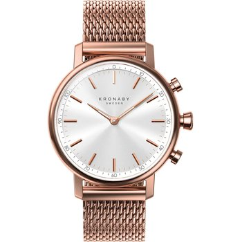 KRONABY SWEDEN CONNECTED Carat Rose Gold Stainless Steel Bracelet