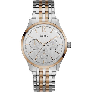 GUESS Mens Two Tone Stainless