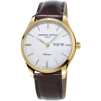Frederique Constant Classic Brown Leather Strap