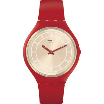 SWATCH Skinhot Red Leather
