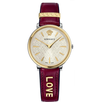 VERSACE V-Circle Bordeaux