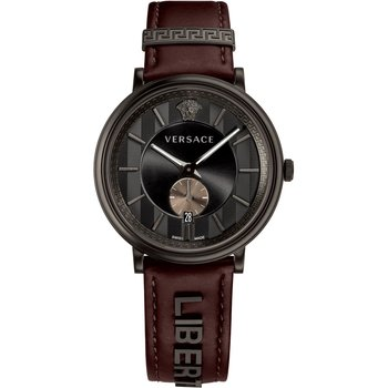 VERSACE V-Circle Brown