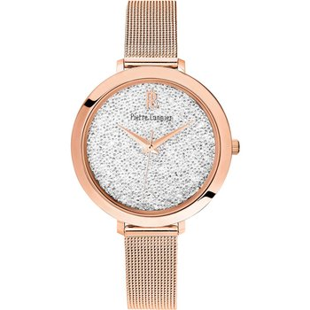 PIERRE LANNIER Ladies Swarovski Rose Gold Stainless Steel Bracelet