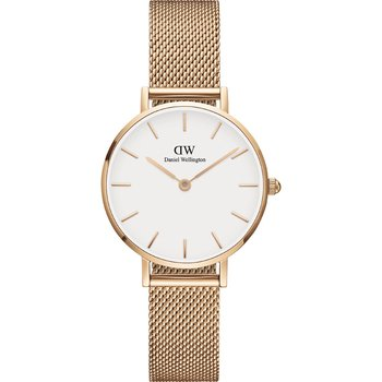 DANIEL WELLINGTON Petite Melrose  Rose Gold Metallic Bracelet 28mm