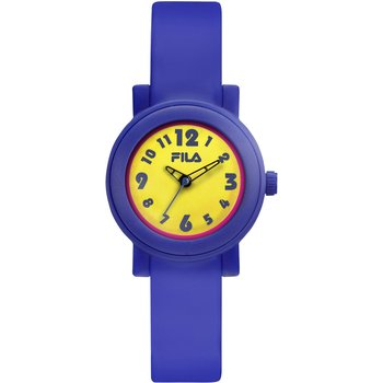 FILA Kids Purple Rubber Strap