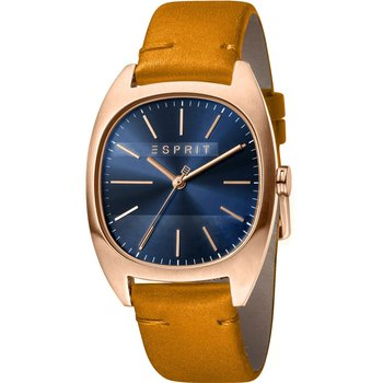 ESPRIT Infinity Brown Leather Strap