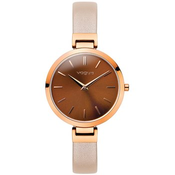 VOGUE Julia Pink Leather Strap