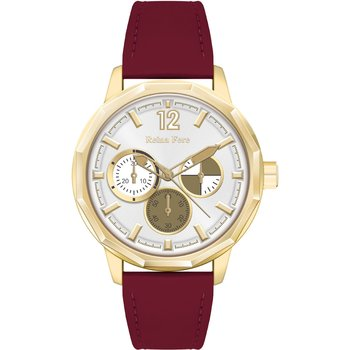 REINA FERE Ladies Red Leather
