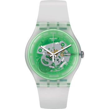SWATCH Vibe Greenmazing White