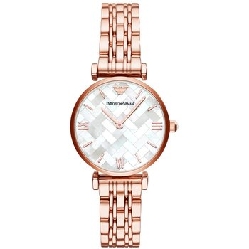 Emporio ARMANI Gianni T-Bar Rose Gold Stainless Steel Bracelet