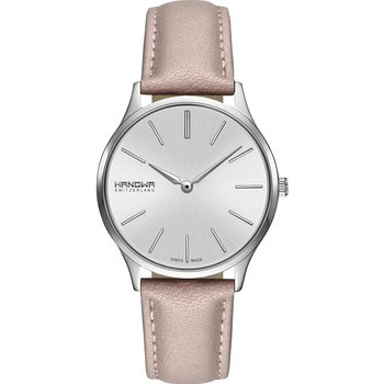 HANOWA Pure Pink Leather Strap