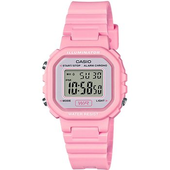 CASIO Chronograph Pink Rubber