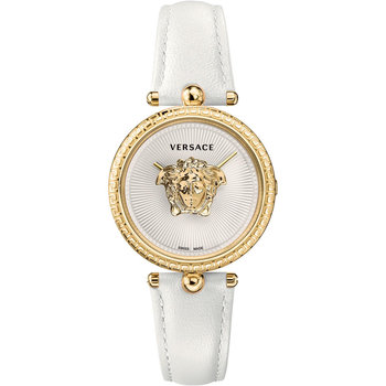 VERSACE Palazzo White Leather