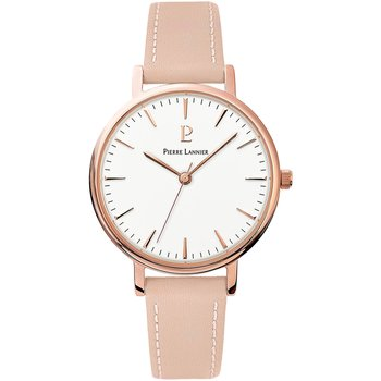 PIERRE LANNIER Symphony Pink Leather Strap