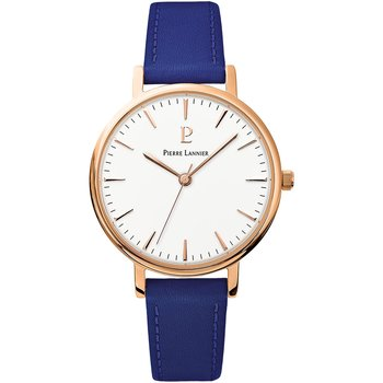 PIERRE LANNIER Symphony Blue Leather Strap