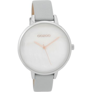 OOZOO Timepieces Grey Leather