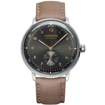 JUNKERS Bauhaus Brown Leather Strap