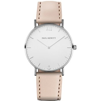PAUL HEWITT Sailor Line Pink Leather Strap