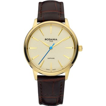 RODANIA Montreux Brown Leather Strap