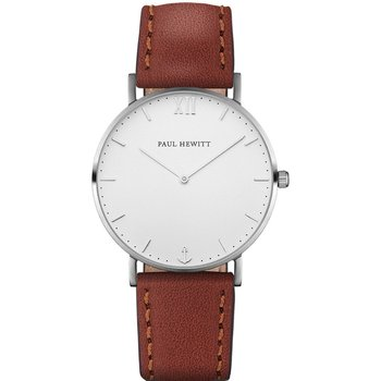 PAUL HEWITT Sailor Line Brown Leather Strap