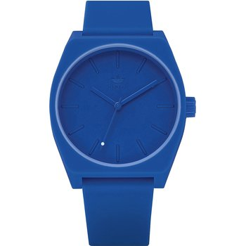 ADIDAS ORIGINALS Process_SP1 Blue Silicone Strap