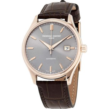 Frederique Constant Classic Automatic Brown Leather Strap